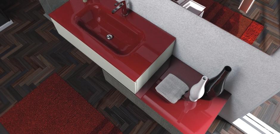 Waschbecken mit Unterschrank 100 cm