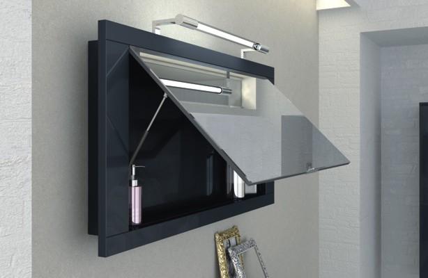 spiegelschr nke wandspiegel badezimmer spiegel badezimmer direkt. Black Bedroom Furniture Sets. Home Design Ideas