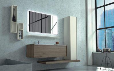Braune Badezimmermöbel