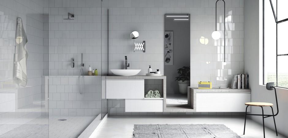 badmöbel-programm young ohne griffe - grifflos | badezimmer-direkt, Badezimmer ideen