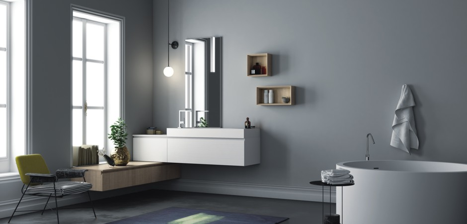 Corian waschtische auf ma und badm bel badezimmer direkt - Badezimmer corian ...