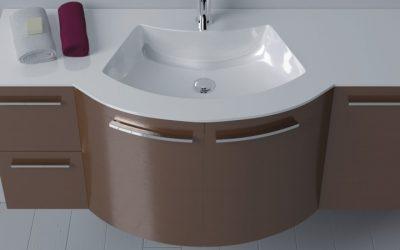 Waschbecken mit Unterschrank 120 cm