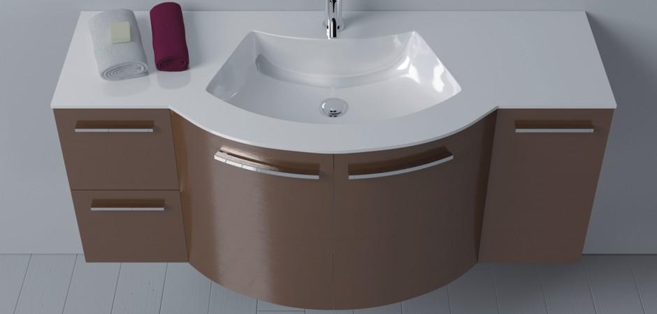 Waschbecken mit unterschrank 120 cm badezimmer direkt for Waschtisch mit unterschrank 120 cm