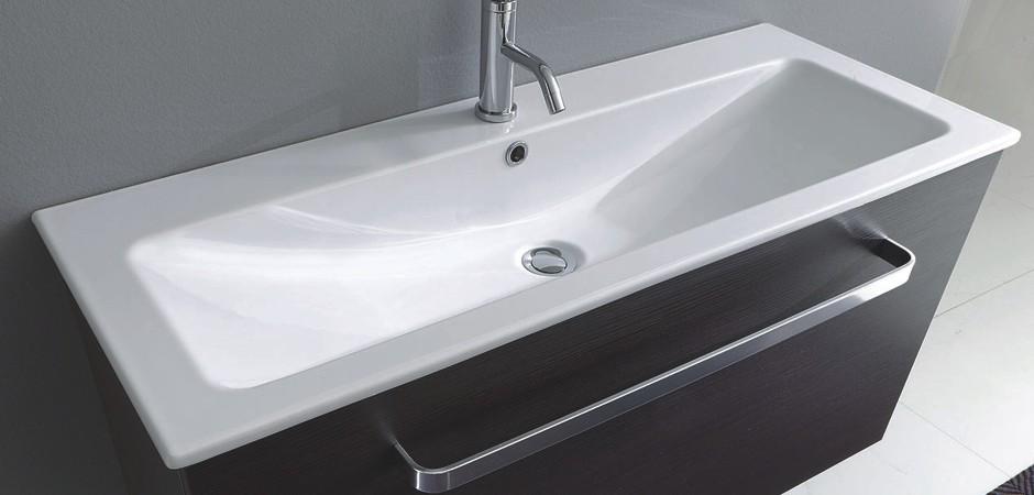 Schmale Waschtische nur 40 cm tief | Badezimmer-Direkt