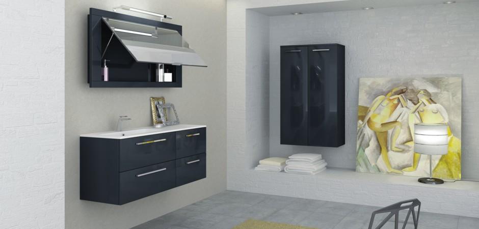 Badmöbel Programm i40 für kleine Badezimmer | Badezimmer-Direkt