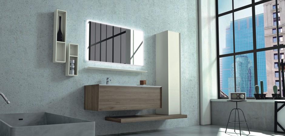 Braune Badezimmer-Möbel, Waschtische auf Maß | Badezimmer-Direkt