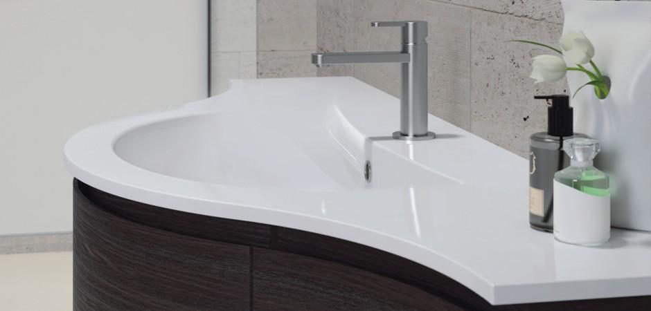 mineralguss waschbecken und waschtische badezimmer direkt. Black Bedroom Furniture Sets. Home Design Ideas