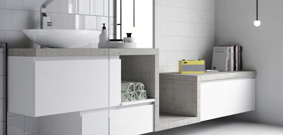 Waschbecken mit unterschrank 80 cm badezimmer direkt for Waschtischplatte mit schublade