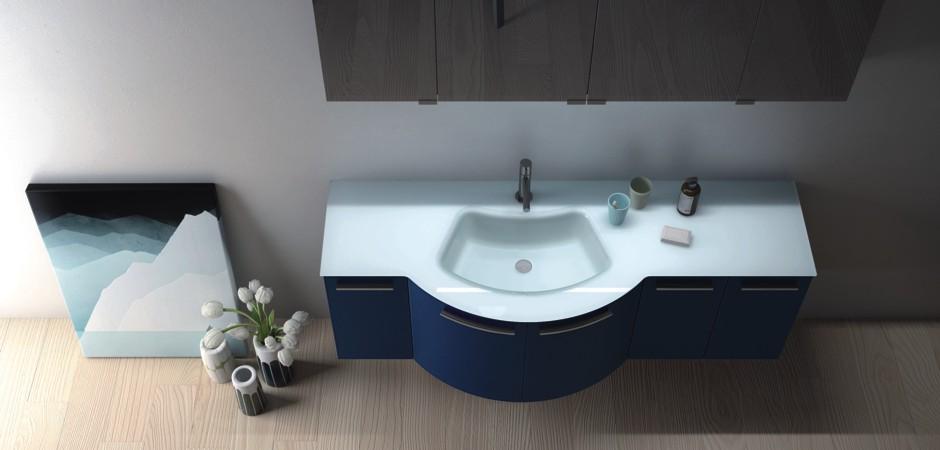 Waschtisch Geschwungen geschwungene waschtische - auch auf maß | badezimmer-direkt