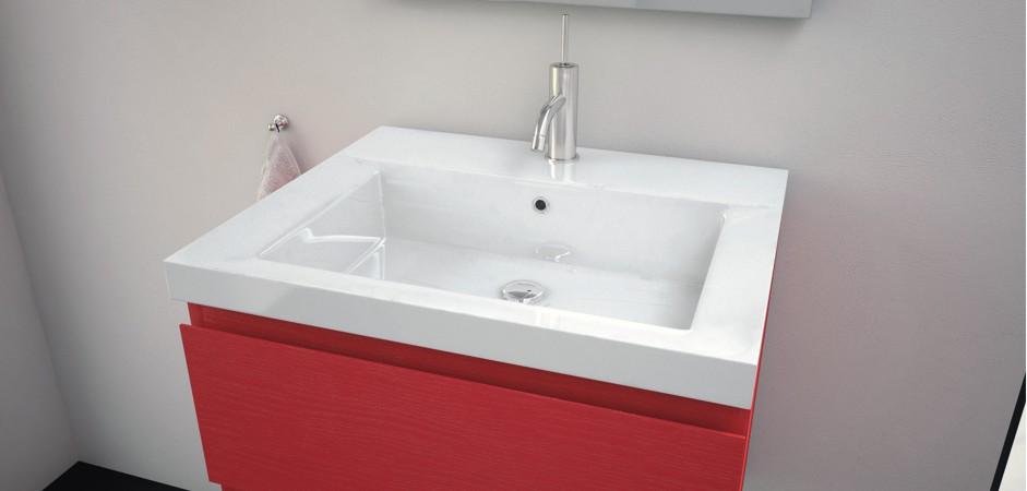 Waschbecken mit unterschrank 60 cm badezimmer direkt for Badezimmer waschbecken mit unterschrank