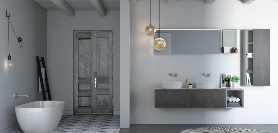 Doppel waschtische auf ma und badm bel badezimmer direkt for Badmobel direkt
