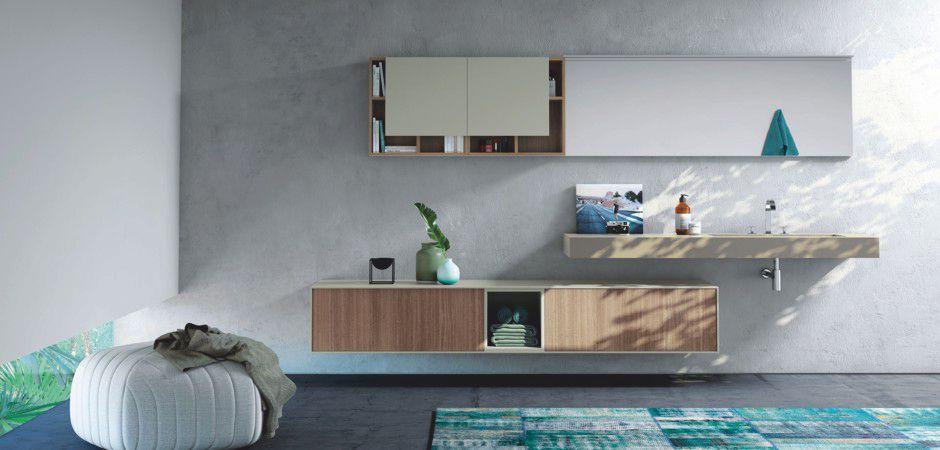 LE CORNICI 04   HPL-Waschtisch auf Maß 180 cm